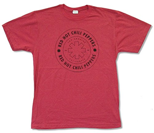 Red Hot Chili Peppers L.A. Los Angeles 1983 Heather Red T Shirt (L)