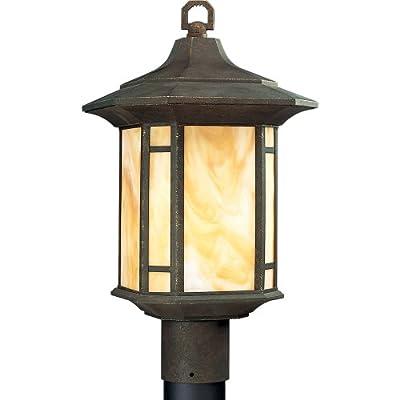 Arts and Crafts 1 Light Post Lantern