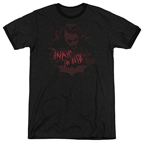Person Ringer T-shirt (The Dark Knight People Will Die Unisex Adult Ringer T Shirt For Men and Women)