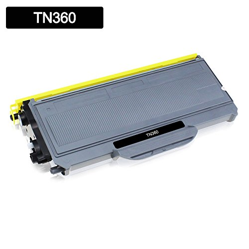 Kodex 1Pack Compatible Brother TN-330 TN330 TN-360 TN360 Black High Yield Toner Cartridges for HL-2140 HL-2170W DCP-7030 DCP-7040 DCP-7045N MFC-7340 MFC-7345N MFC-7345DN MFC-7440N MFC-7840W Printer