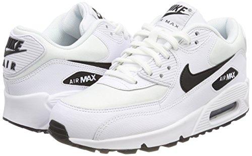 001 Scarpe Ginnastica white Donna black Bianco Da Air Max Nike 90 wvOqAtaR