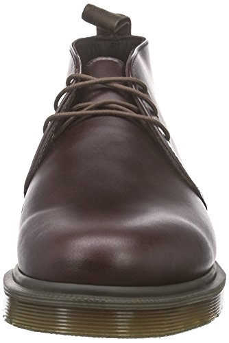 Dr. Martens Mens Mörkbruna Ray Läder Chukka Boots-uk 9