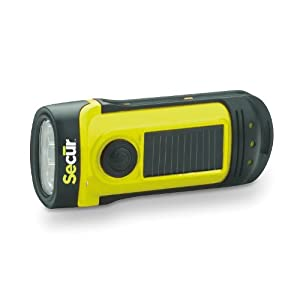 41ORv957T%2BL. SS300  - Secur Dynamo 8 Lumen Solar Waterproof LED Rechargeable Flashlight