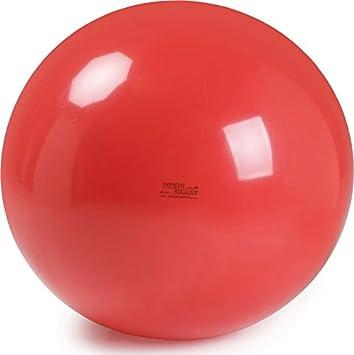 Ledraplastic Gymnic Pelota de Color Rojo, diámetro 120 cm, 4000 g: Amazon.es: Deportes y aire libre