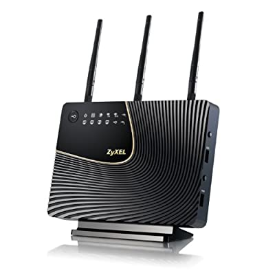 ZyXEL Wireless N 450 Mbps Concurrent Dual-Band Gigabit Router (NBG5715)