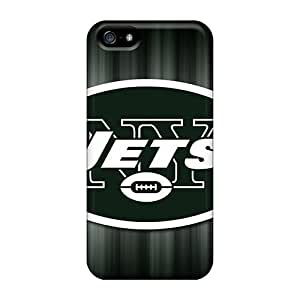 Iphone 5/5s Aja12091iDcq Custom High-definition New York Jets Skin Durable Cell-phone Hard Cover -EricHowe