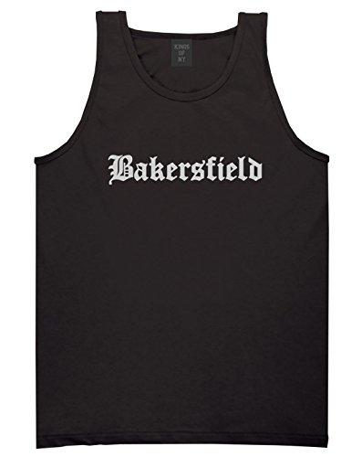 Kings Of NY Bakersfield City California Cali CA Tank Top XX-Large Black -