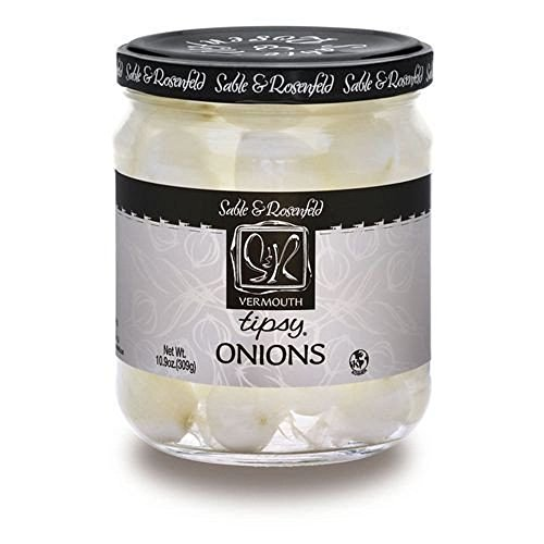 Sable & Rosenfeld Tipsy Onions - 10.9 Oz (Two Jars) (Best Vinegar For Pickling Onions)