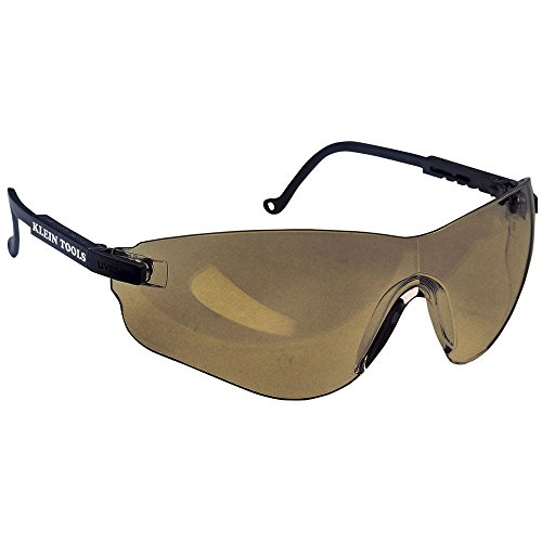 Protective Frameless Eyewear Brown Tinted Lens Klein Tools 60057