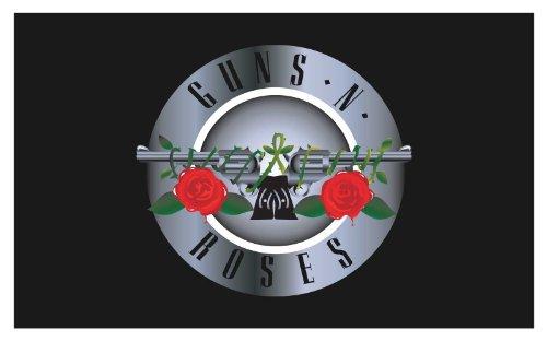 Guns N Roses Banner - Guns N Roses Traditional Flag
