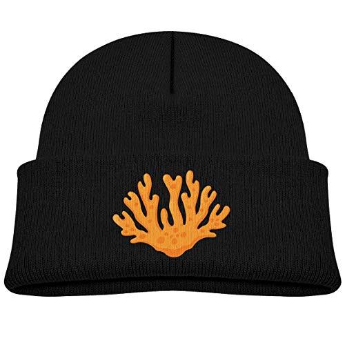 sunshime Go Ahead! boy Kids Knitted Beanies Hat Chemistry Temperature Test Winter Hat Knitted Skull Cap for Boys Girls Black]()
