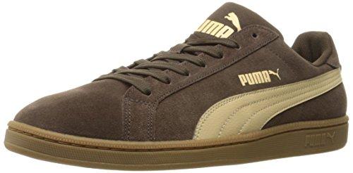 PUMA Men's Smash SD Fashion Sneaker Chocolate Brown 10.5 M