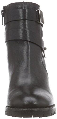 xyxyx Damen Kurzschaft Stiefel Schwarz (Black)