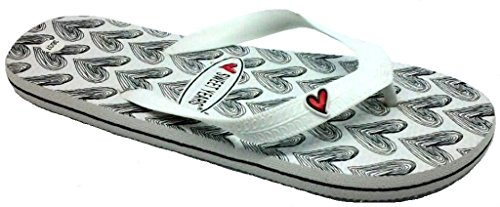 Sweet Years Infradito Ciabatte Mare Donna MOD. 0042 Bianco (40/41)
