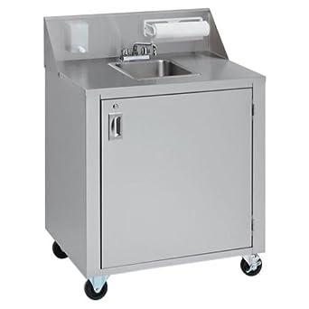 Portable Hand Sink Sink: Single: Kitchen Sinks: Amazon.com