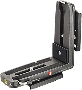 Manfrotto MS050M4-Q5 - Soporte en L para zapata tipo RC4, color negro