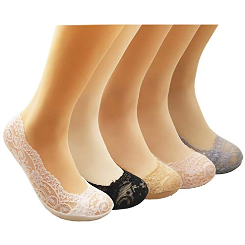 80% AUS Kfnire Unsichtbare Socken Damen 6 Paar Damen