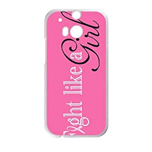 Happy fight like a girl Phone Case for HTC One M8