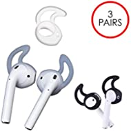 HM Airpods Cover (3 Pairs) - Best Original Accessories for Apple Air Pods - Ultra Superior Grip...