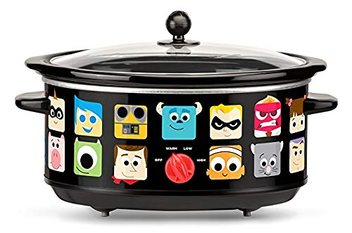 Disney DPX-7 Pixar Slow Cooker 7 quart Black