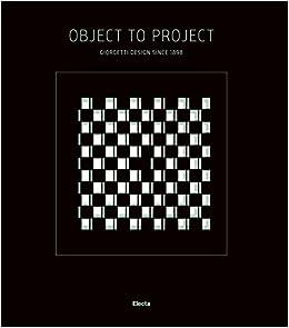 Object to project  Giorgetti design since 1898  Ediz