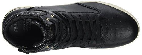 Noir Aveup J black Mixte Baskets Hautes C Adulte Geox 05nxBd0