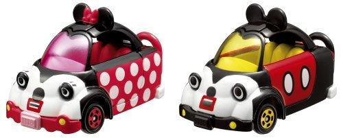 タップンタップ キュービックマウス ミッキー&ミニー(ブラック×ホワイト×レッド) 2台セット 特別仕様車 「トミカ ディズニーモータース」