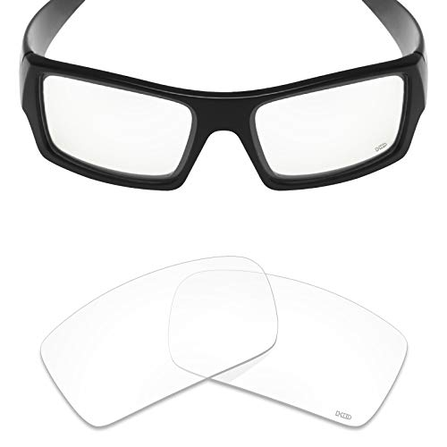 Mryok+ Polarized Replacement Lenses for Oakley Gascan - HD Clear -