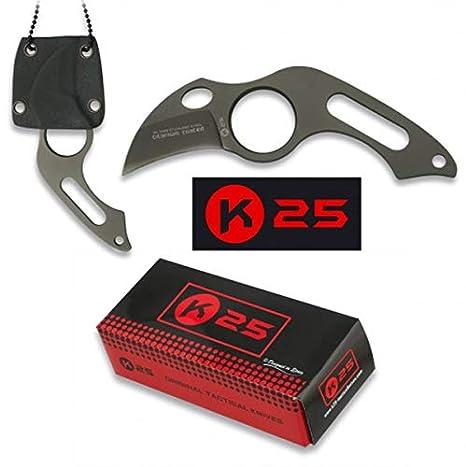 K25 K25-31849 - Cuchillo C/Funda KYDEX. 4 cm - Herramienta ...