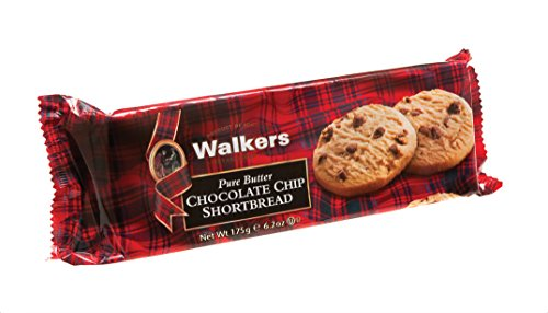 Walkers Shortbread Cello Choc Chip Shortbread Rounds (Pack of 3) Choc Shortbread