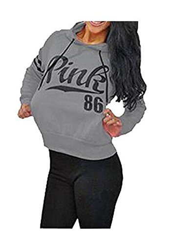Womens Chic Drawstring Long Sleeve Hooded - Crop Chic