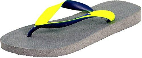 Havaianas H. Top Mix Steel Grey/Led Yellow Sandal - 9M/8M