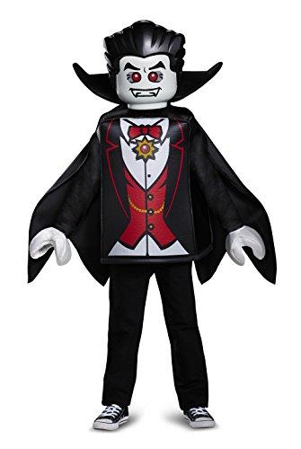 LEGO Vampire Classic Costume, Black, Large (Top Ten Scary Halloween Costumes)
