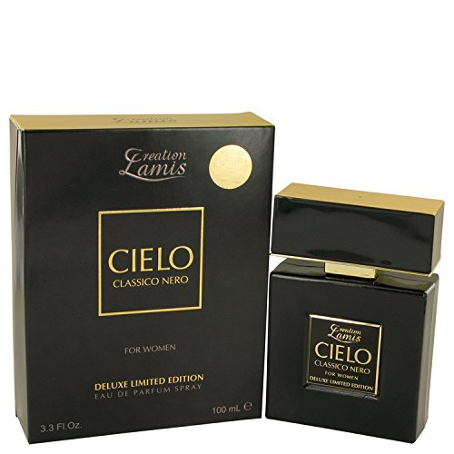 Lamis Cielo Classico Nero by Lamis Eau De Parfum Spray Deluxe Limited Edition 3.3 oz Women
