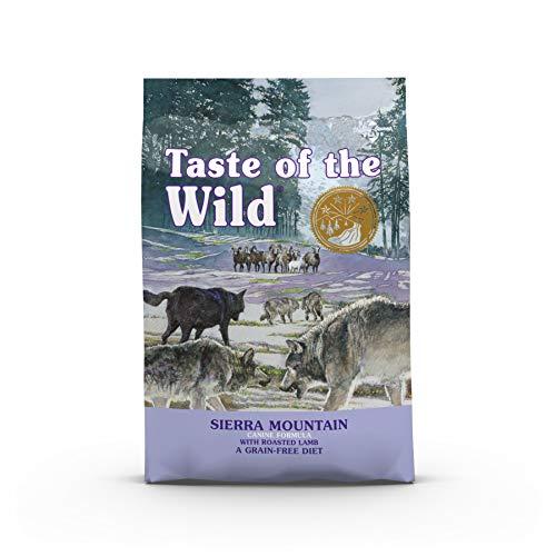 Taste Of The Wild Sierra Mountain – Pienso para Perros con Cordero Asado 12,2kg