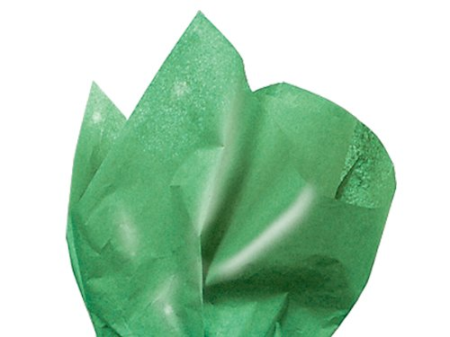 Green Waxed Florist Tissue Paper Ream 480 ~ 18''x24'' Sheets (2 Packs) - WRAPS-WAXG by Miller Supply Inc