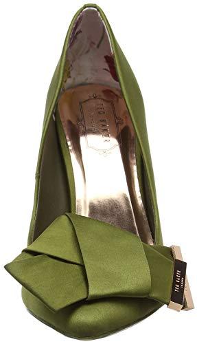 Bout Femme Vert Baker Escarpins Grn INES Green fermé Ted wTxatgqT