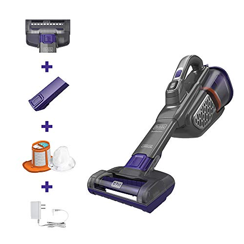 BLACK+DECKER Dustbuster AdvancedClean+ Handheld Vacuum (HHVK515JP07), Gray