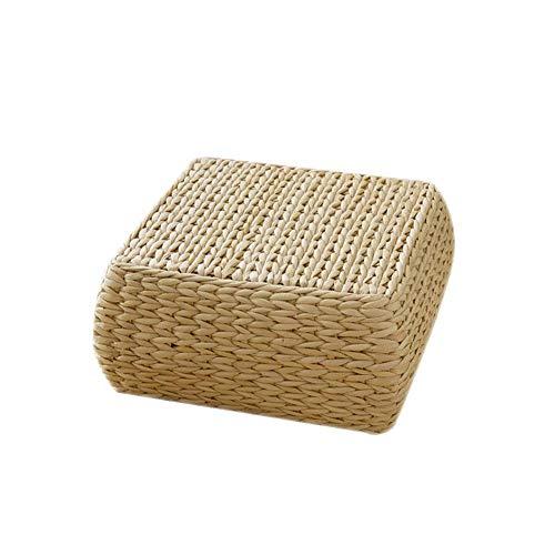 New-look Tatami futon Floor seat,Straw Cushion Tatami Floor Cushion Japanese Style Handcratfed Wicker Mat Futon Flat Meditation Cushion,Yoga Practice or Buddha Meditation