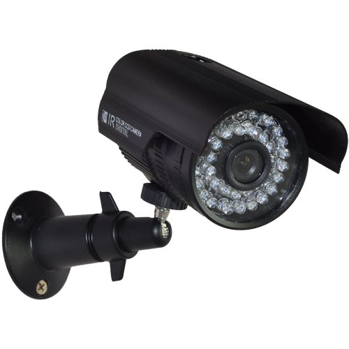 Security Ir Infrared Color Video (BlueFishCam Wide Angle Bullet CCTV Camera Outdoor lens 3.6mm CMOS 1000TVL 36 LED Infrared Color Waterproof With IR-CUT Day/night vision Security Camera)