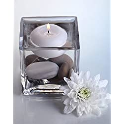 "East End Acres™ 3"" Floating White Candles ("