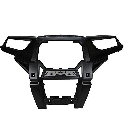 (Genuine OEM Fascia Front Bumper Headlight Grill Frame Cover for 2015 Polaris RZR XP 1000 5439786-070)