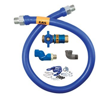 Dormont Manufacturing 1675KITCFS48 Dormont Blue Hose Moveable Gas Connector Kit by Dormont Manufacturing (Image #1)