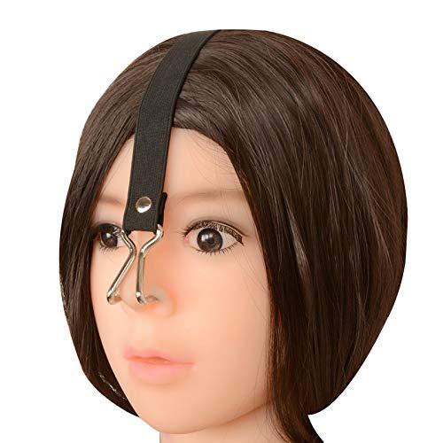 Nose Hook BDSM Women Slave Training Elastic Strap Stainless Steel Adjustable Erotic Slut Gear Adult Sex Toy for Couples
