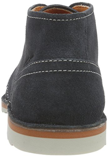 camel active Delta 13 Herren Desert Boots Blau (Indigo)
