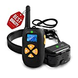 Bark Collar 2018 New Dog Shock Collars with Rechargeable, Waterproof, 1450ft Remote Range, Beep/Vibration/Shock Training Modes for Small Medium Large Dogs
