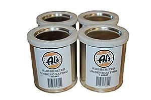 Al's Liner ALS-UCR1G Black Als-Ucr Premium DIY Rubberized Undercoating, 1 gallon, 1 Pack by Al's Liner