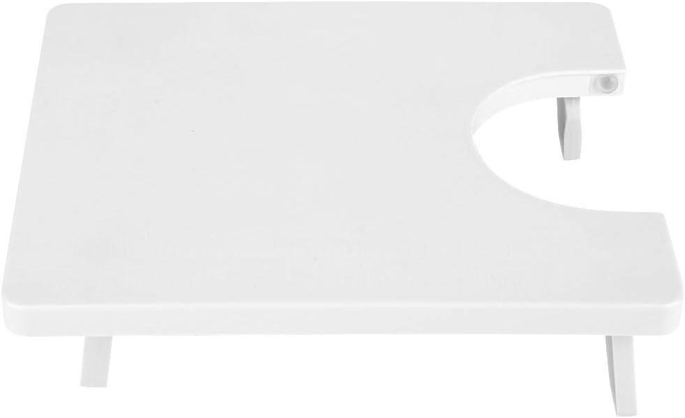 KSTE Mesa de extensión - Mini máquina de Coser de plástico ABS con Mesa de extensión, Compatible con los Modelos de máquinas de Coser Starlet y Brilliance