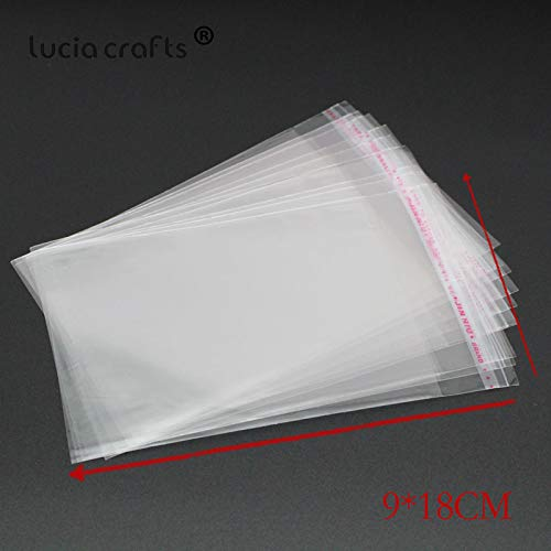 Best Quality – Packing – Multi Sizes Packaging Plastic Clear Package Bags Self Adhesive Seal Storage Bag Birthday Party Cookies Candy Packing 19010001 – by Orchilld – 1 PCs