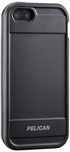 Pelican ProGear Protector Series for iPhone 5 - Retail Packaging - Black/Grey